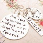 Mommy Necklace, Hand Stamped Neckla..