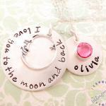 Hand Stamped Jewelry for Mothers I ..