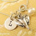 Personalized Necklace - Elephant Ch..