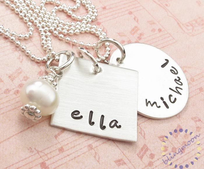 Jewelry With Names Engraved